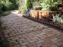 Using Old Bricks As Pavers Gardening Ideas Pinterest Bricks