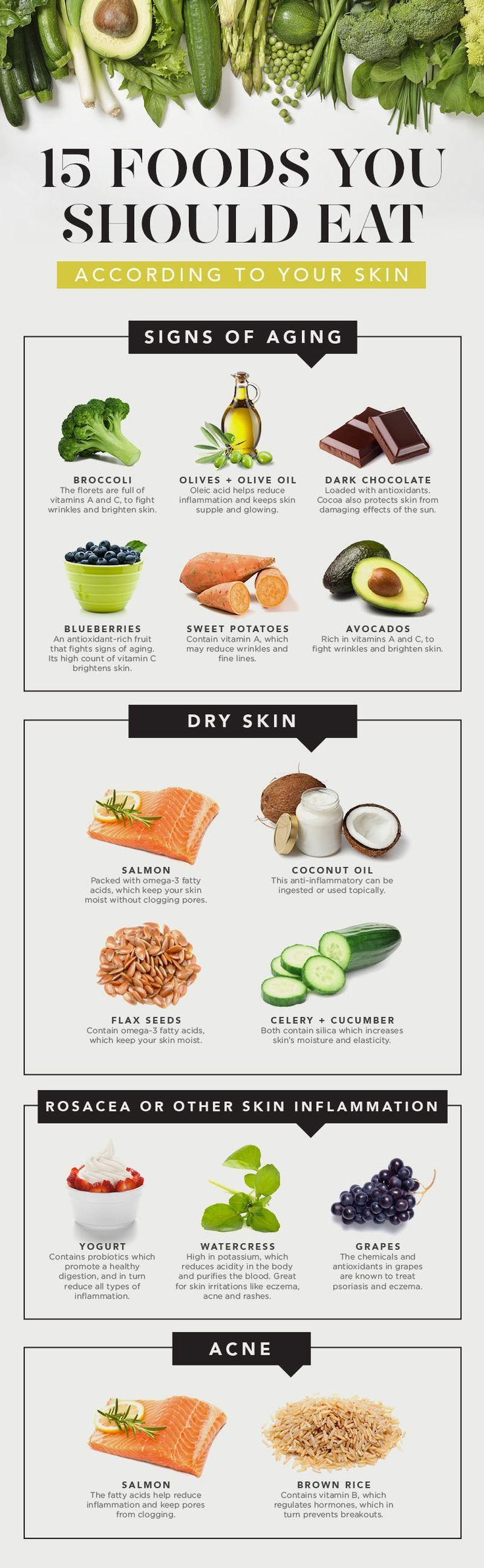 how to cure dry skin through diet