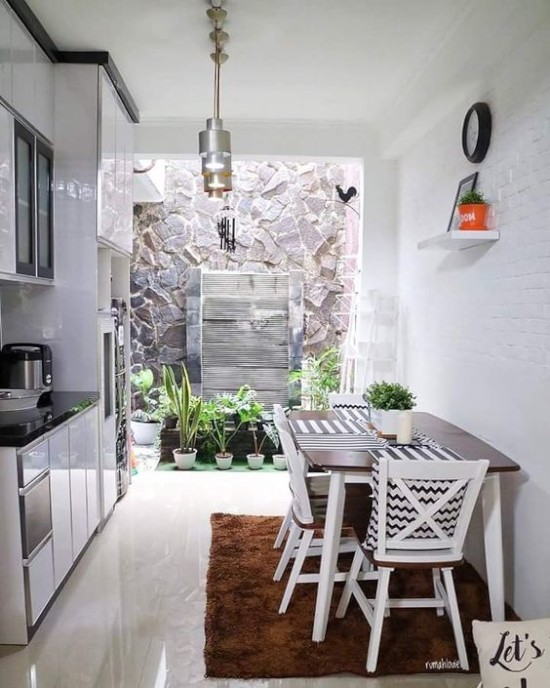 30 Ide Inspiratif Dapur Dan Ruang Makan Terbuka Menghadap Taman Ide Dekorasi Rumah Interior Desain