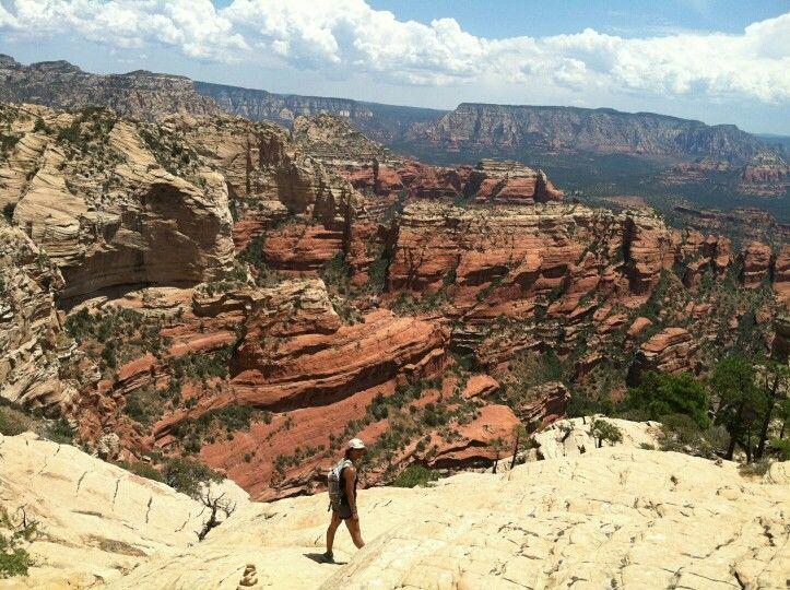 Hiking sedona arizona hiking natural landmarks hiking