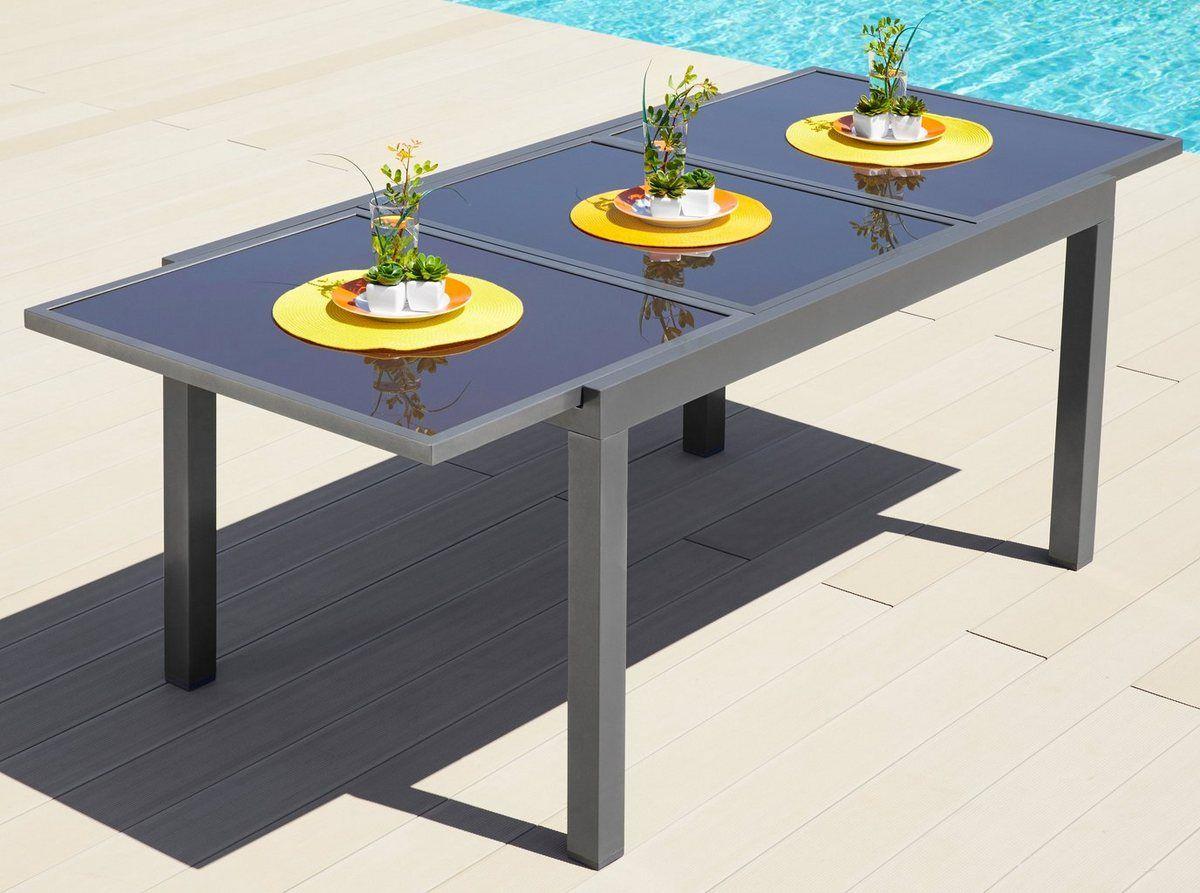 Gartentisch Amalfi Aluminium Ausziehbar Gartentisch Tisch