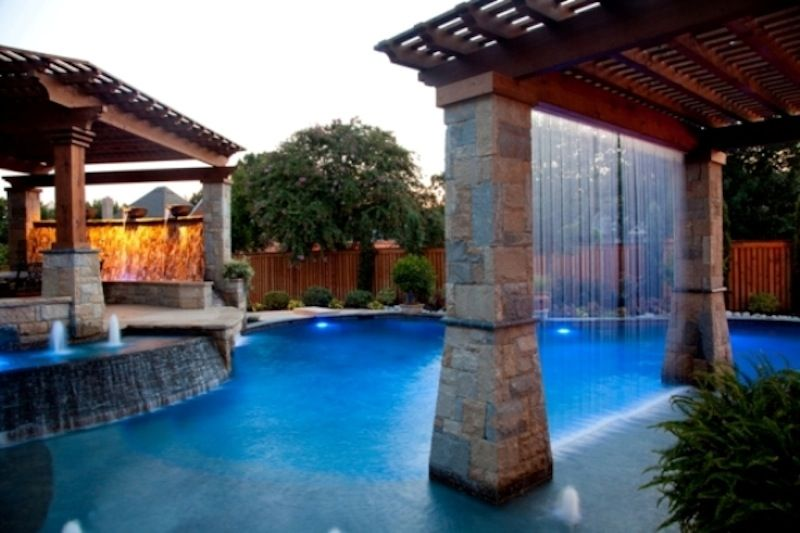 Cool Pools With Waterfalls In Houses water featuresgo back add a touch of class with a custom water