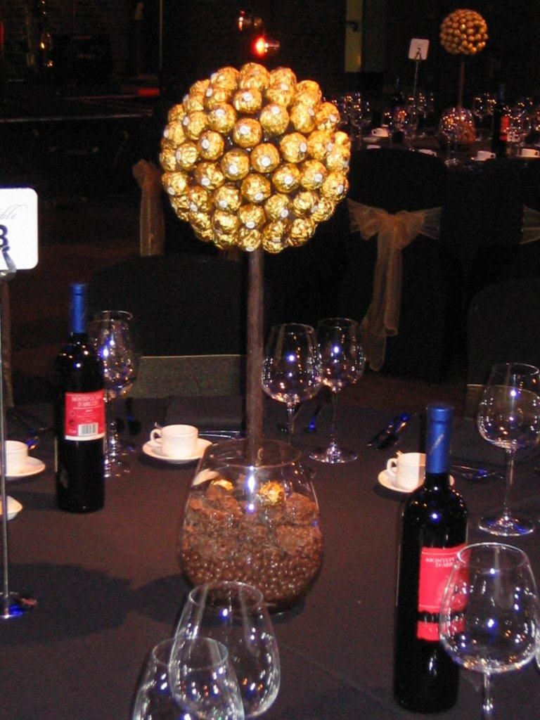 Ferrero Rocher Sweet Tree Close Up Wedding Sweet Tree