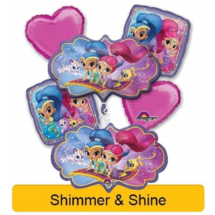 Shimmer And Shine Birthday Party Range