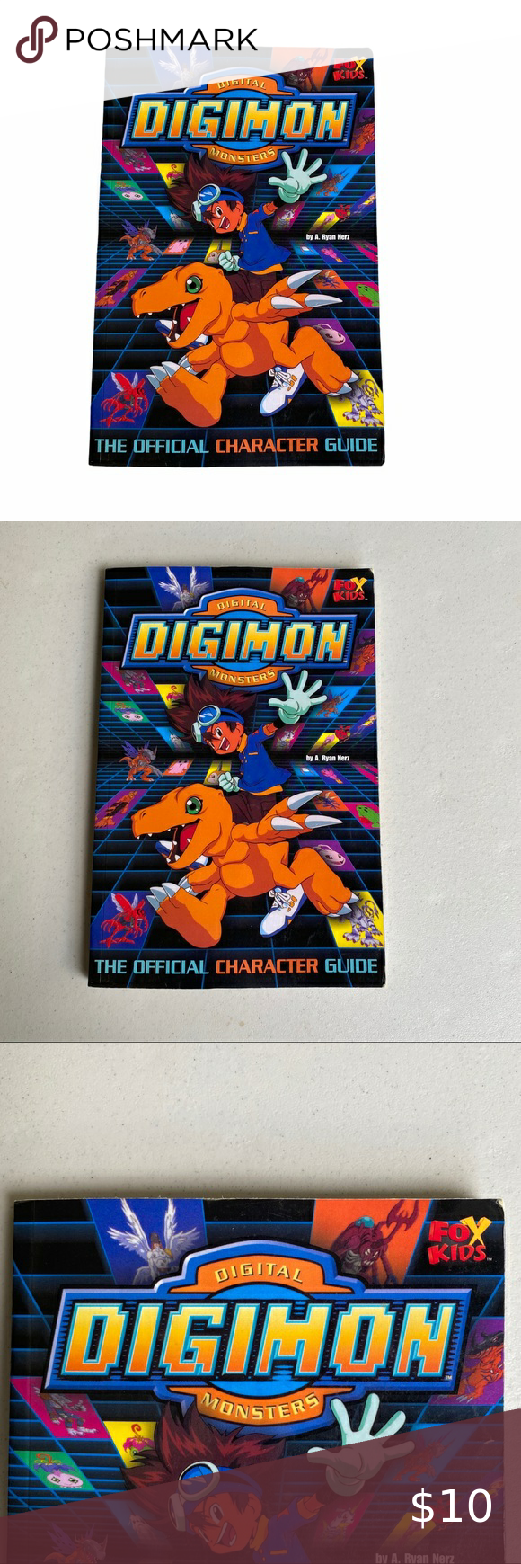 Digimon The Official Character Guide By A Ryan Digimon Character Paperback Books