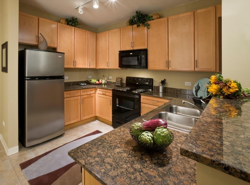 Amli 900 Kitchen Chicago Apartment Apartment South Loop Chicago