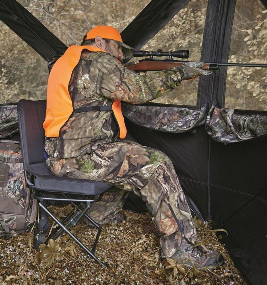 Hunting Blind Chair Swivel 360 Degree Folding Travel Seat