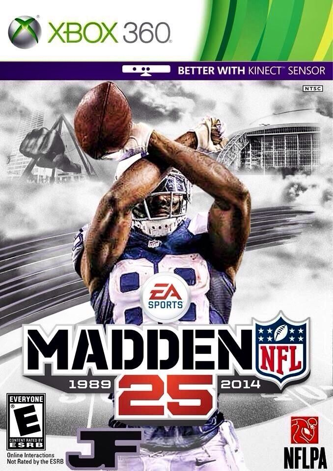 Dez Bryant Madden 25 Dallas Cowboys Madden Nfl Video