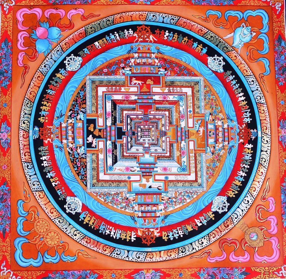 Buddhism Tibetan Wheel Life
