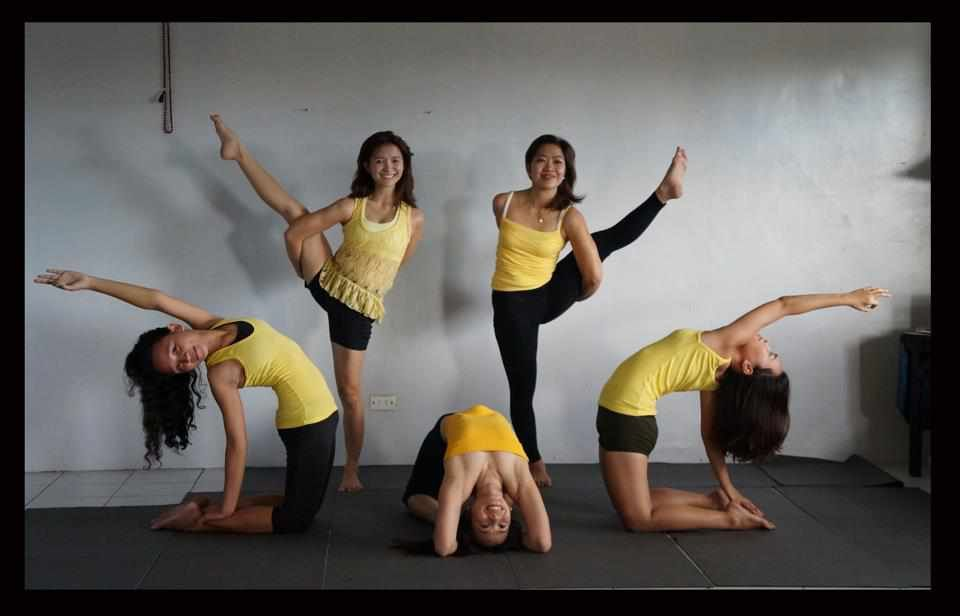 Cool Group Yoga Poses