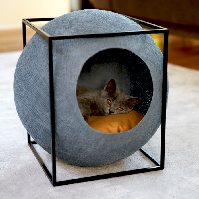 Katzenmöbel von Meyou sind zugleich schicke Wohnaccessoires #animalsandpets