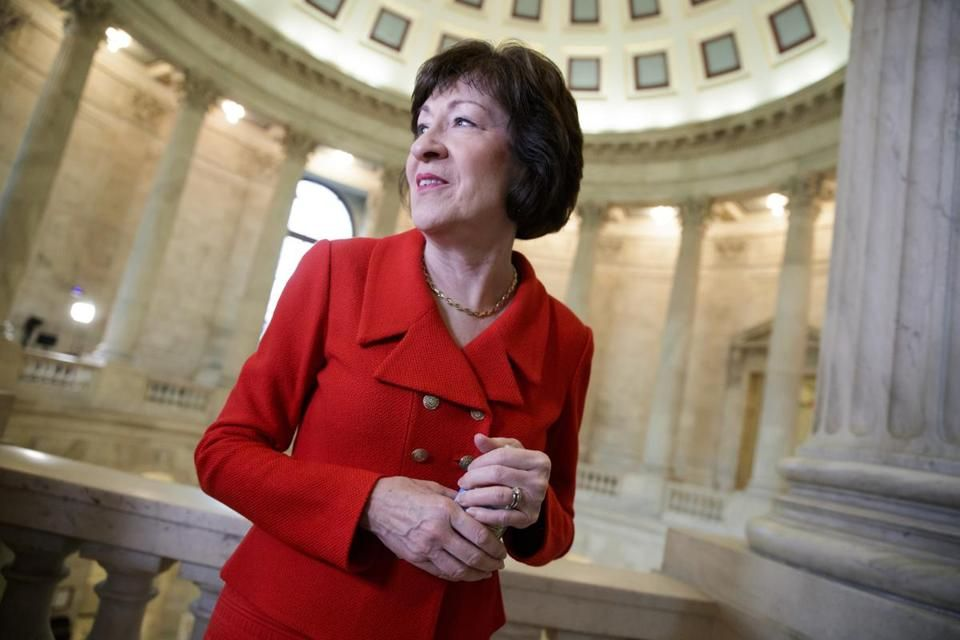 Senator Collins must lay claim to courage (With images