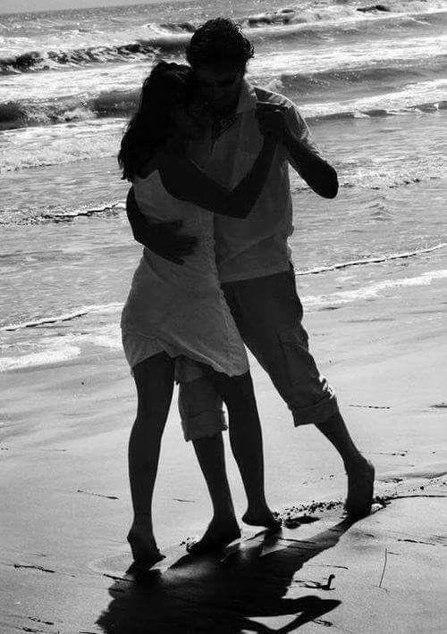Dancing on the beach!