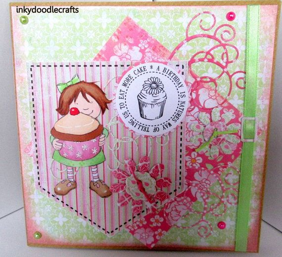 Handmade Birthday Card And Gift A Special By Inkydoodlecrafts 470