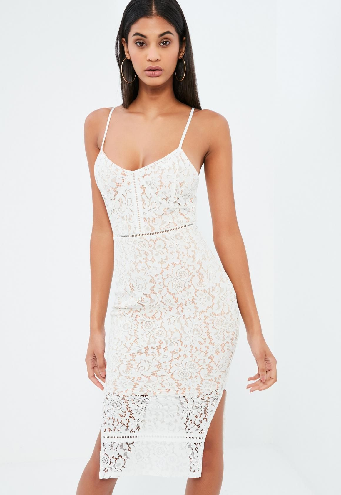 white christmas party dress