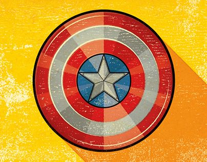 "Alexei Vella - #editorial #conceptual #illustration salzmanart.com Check out ""Captain America's Shield"" on my @Behance portfolio:  http://be.net/gallery/37160543/Captain-Americas-Shield"