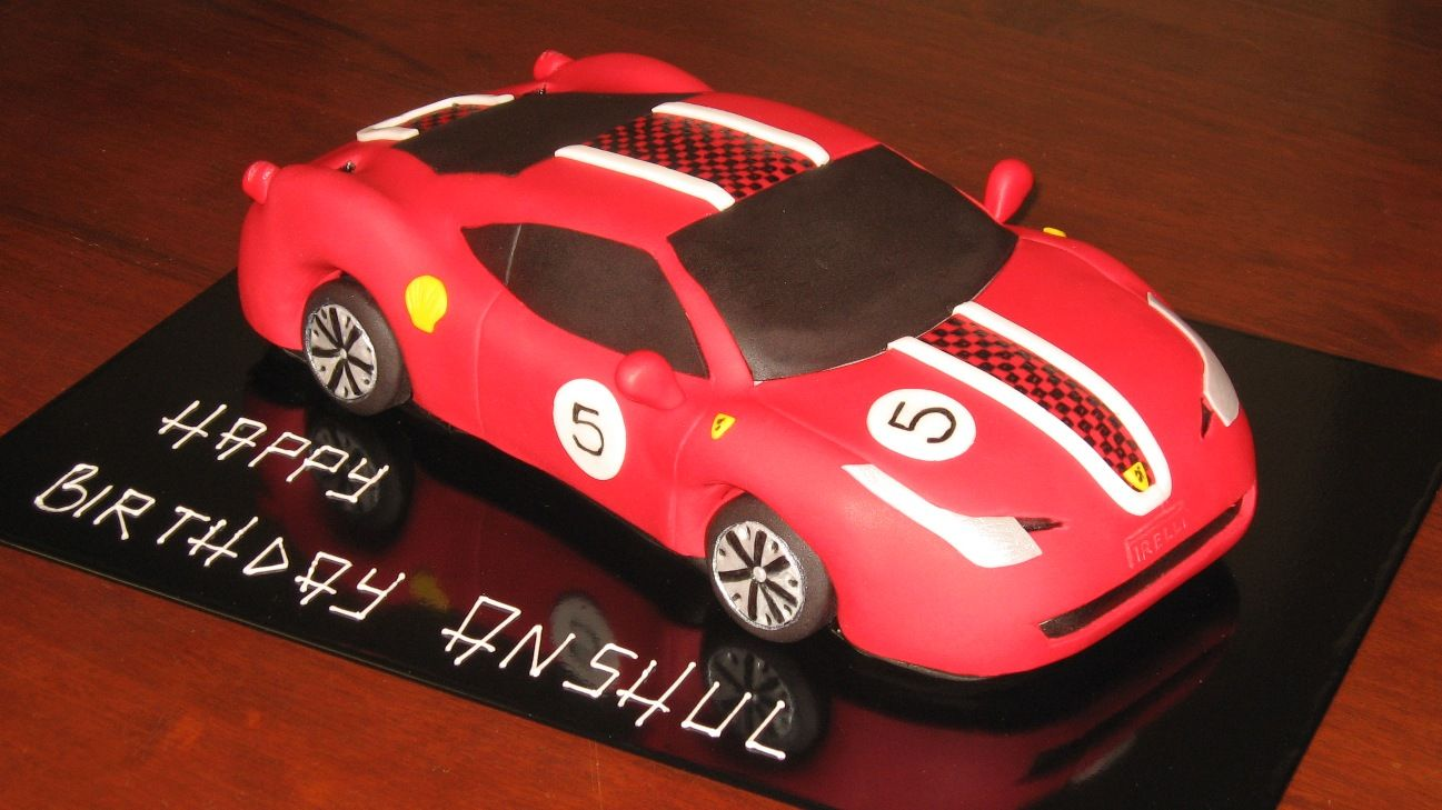 Cake Design Cars Theme