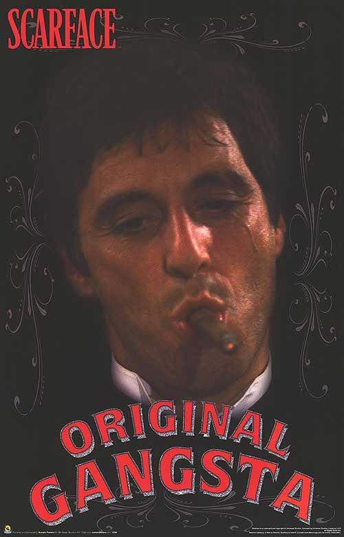 scarface poster scarface