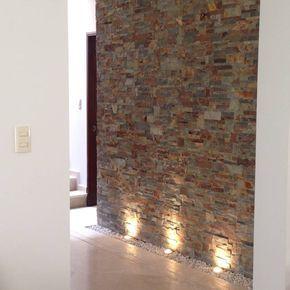Eine Schöne Steinwand Verdient Die Passende Beleuchtung! Mehr Zu  Wandgestaltung Findet Ihr In Diesem Artikel Von Alejandra Zavala P.