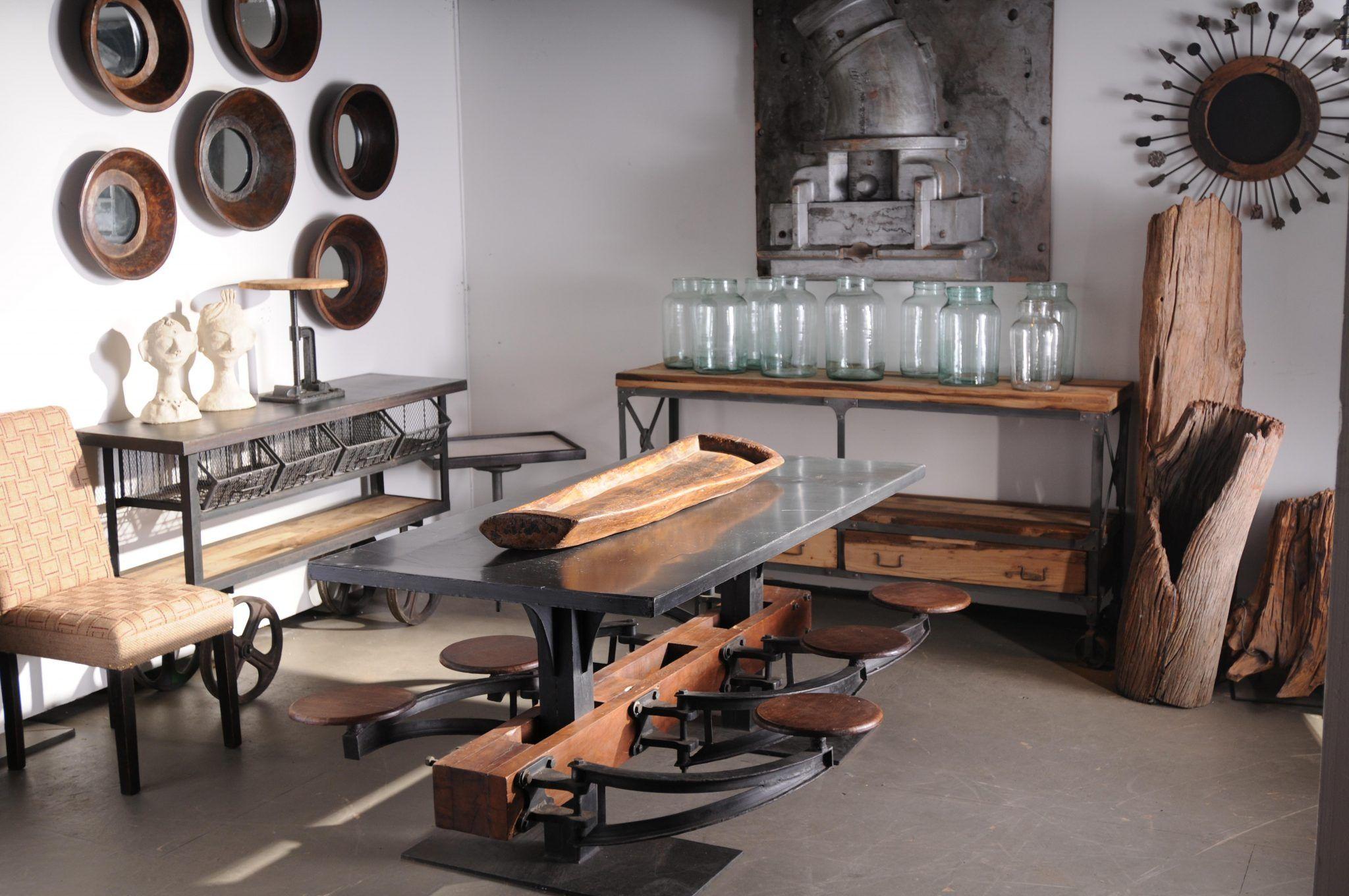 новые индустриальные стили мебели и их фото
