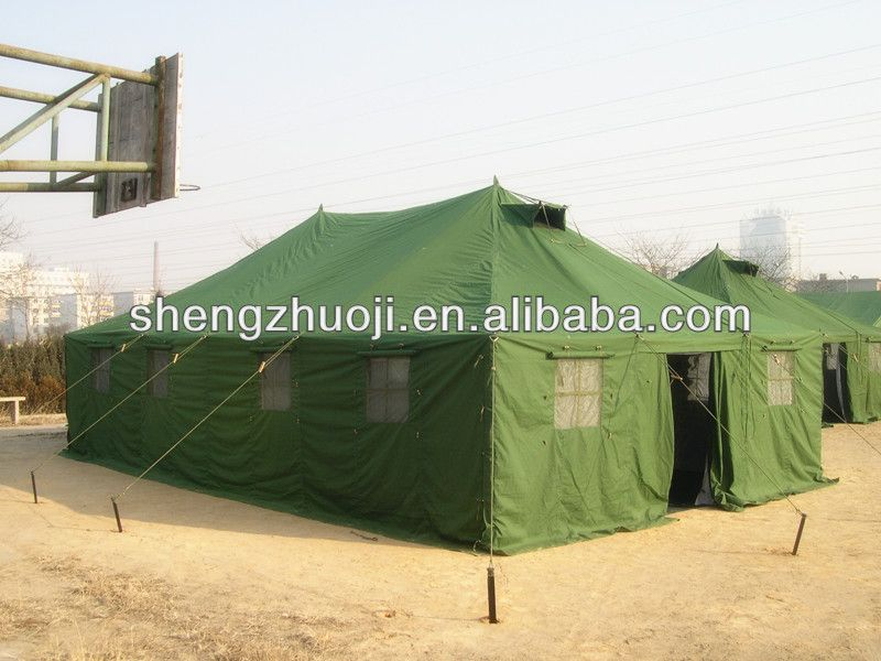 Green Military Tent With Top Waterproof Function - Buy Military Tent ...