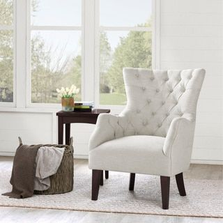 Captivating Shop For Hannah Off White Wing Chair. Get Free Shipping At Overstock.com