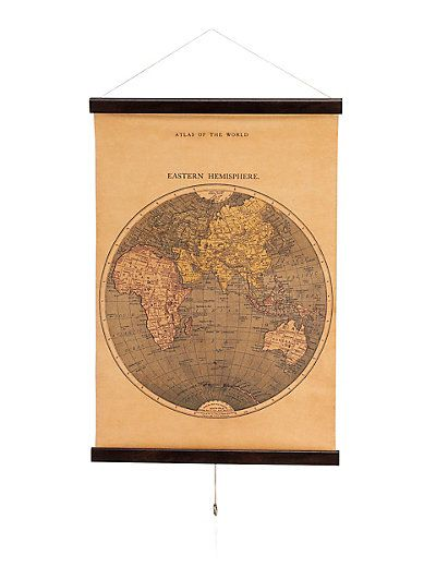 Atlas Scroll Wall Art | M&S | Le House | Pinterest | Walls ...