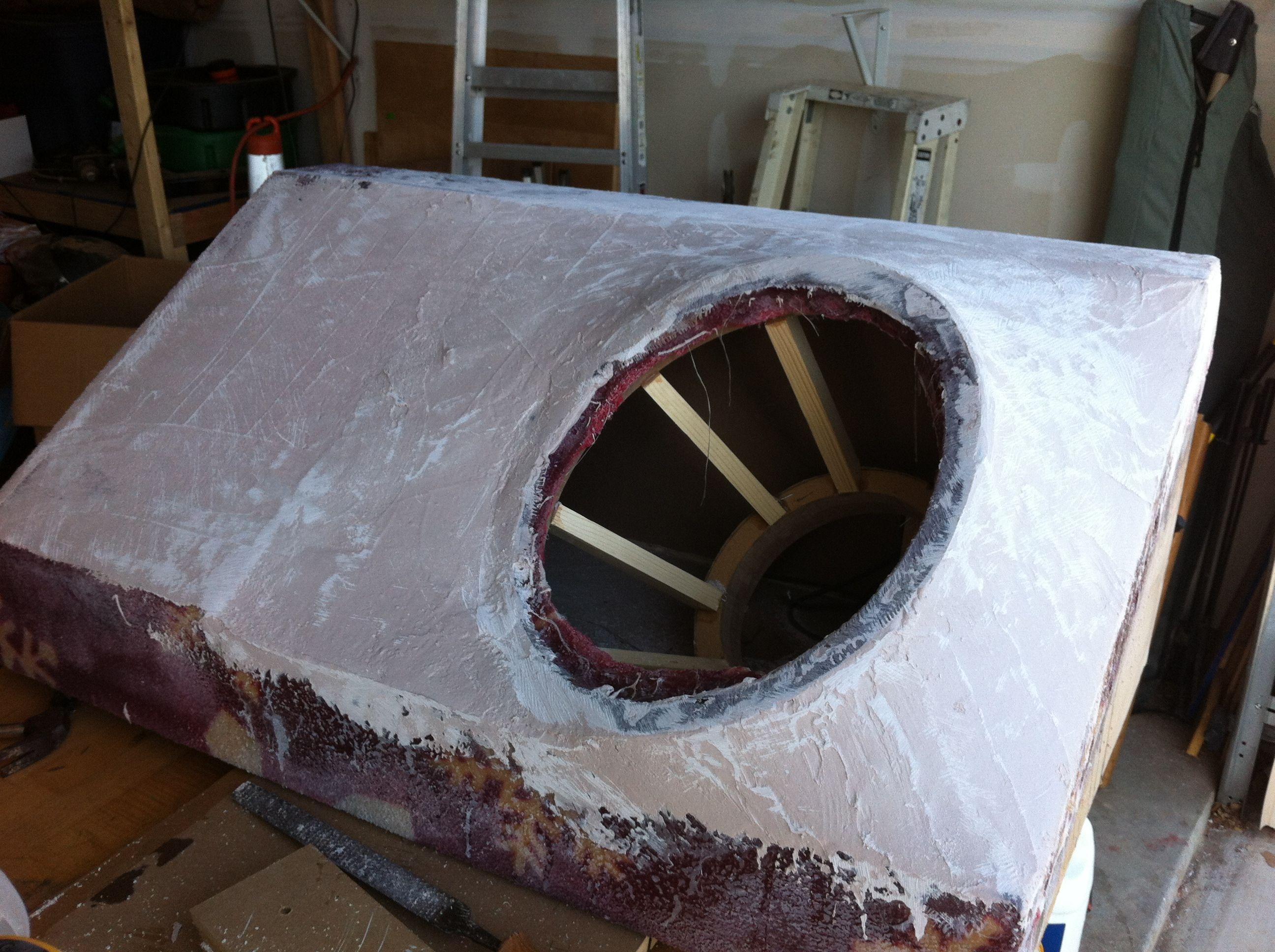 Fiberglass Speaker Box Diy Pinterest Car Interiors