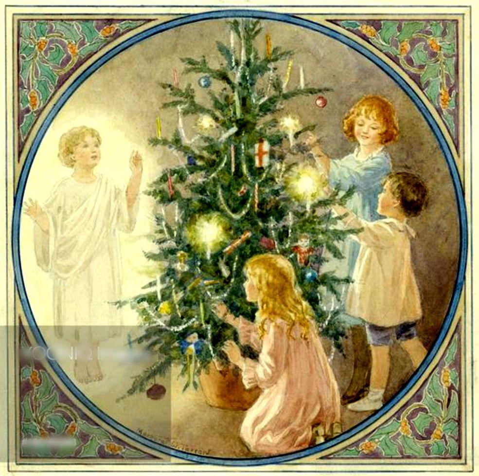 Antique Christmas Cards, Christmas
