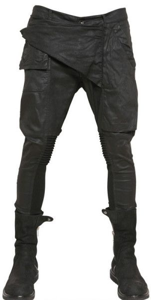 47a05a6b54f9f Men's Black 15cm Memphis Wax Stretch Denim Jeans in 2019 | Fashion ...
