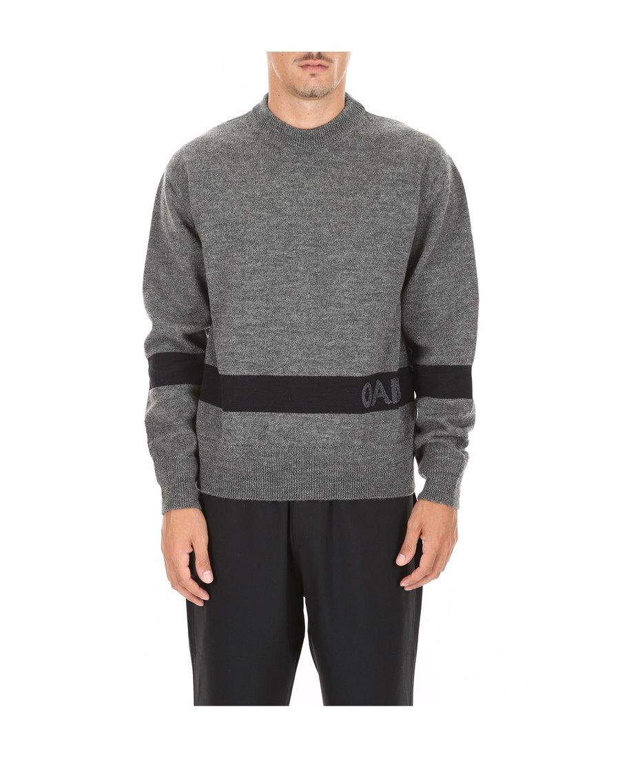 OAMC LOGO贴布针织衫. oamc cloth Men sweater, Mens fashion