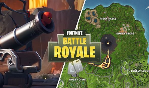 Fortnite Volcano Vents Week 1 Challenge Map Locations Revealed For