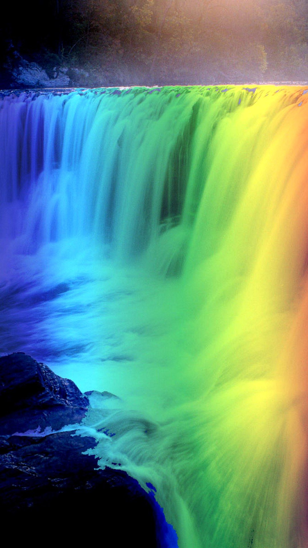 Rainbow Iphone wallpaper Hd in 2020 Cute home screen