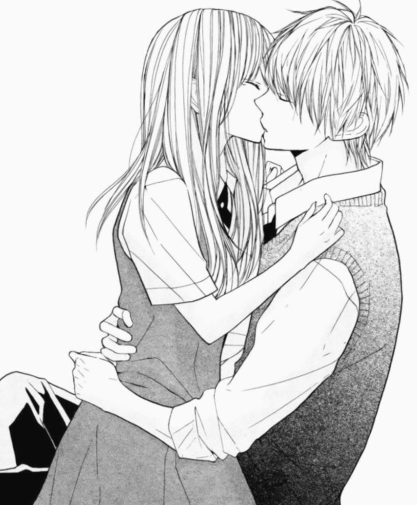 16 Anime Sketch Couple Fairy Tail Couple Drawings Tumblr Anime Couple Kiss Cute Couple Drawings