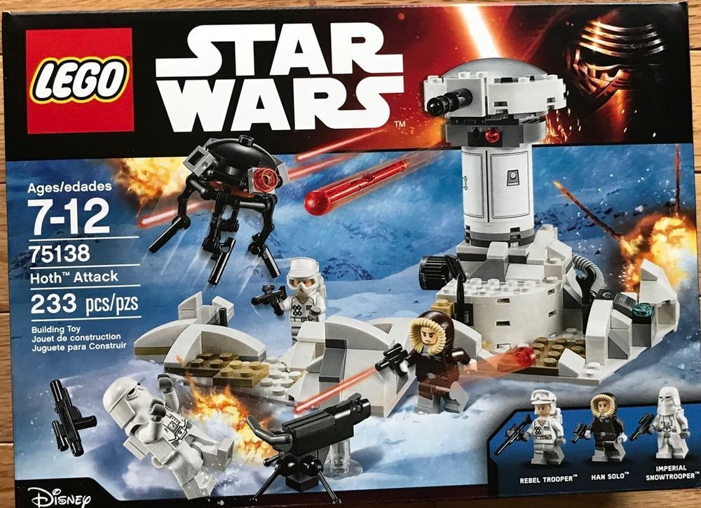 This Is A Link To Amazon And As An Amazon Associate I Earn From Qualifying Purchases Lego Star Wars Hoth A Lego Star Wars Sets Star Wars Hoth Star Wars Toys