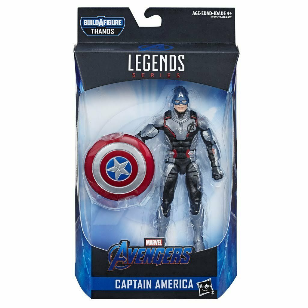CAPTAIN AMERICA QUANTUM SUIT Marvel Legends AVENGERS ENDGAME WAVE 3 IN STOCK!!