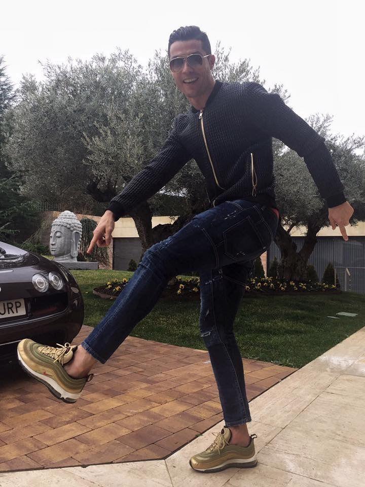 Hombre Nike Air Max 97 Cr7 Cristiano Ronaldo Zapatillas