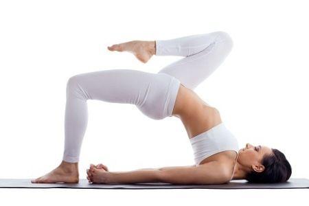 yoga ekapada setuasana  yoga fitness 20 minute yoga