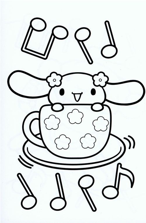 Delicieux Hello Kitty Coloring Page