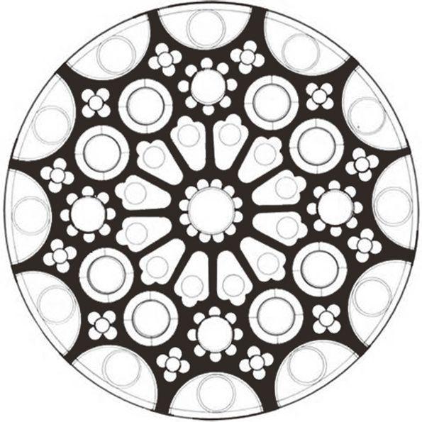 Ausmalbilder  Mandala-52