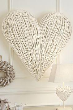 35 Creative Diy Heart Symbols Cuded Heart Diy Wicker Hearts Heart Shapes