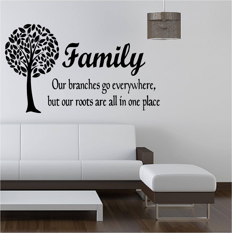 Family tree like branches vinyl art sticker bedroom lounge tree family tree like branches vinyl art sticker bedroom lounge amipublicfo Image collections