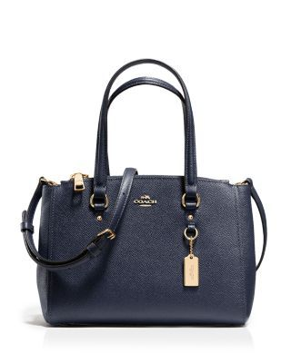 COACH Stanton Carryall 26 in Crossgrain Leather  fb00854969ba2