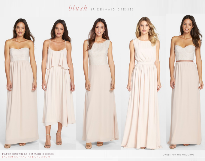 Lauren Conrad S Bridesmaid Dresses For Paper Crown