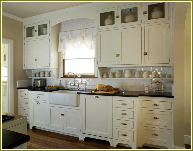 Best Shaker Style Cabinets Antique White Cheap Kitchen 400 x 300
