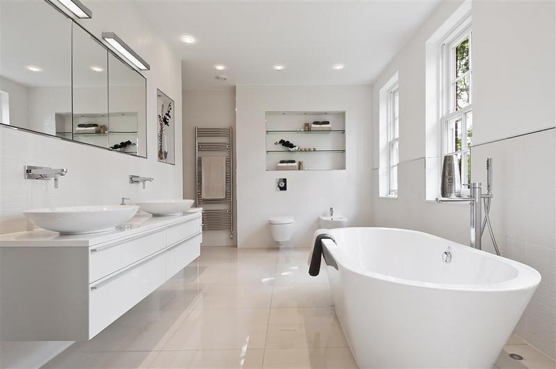 Related Image Modern White Bathroom White Bathroom Vanity Modern Bathroom Design