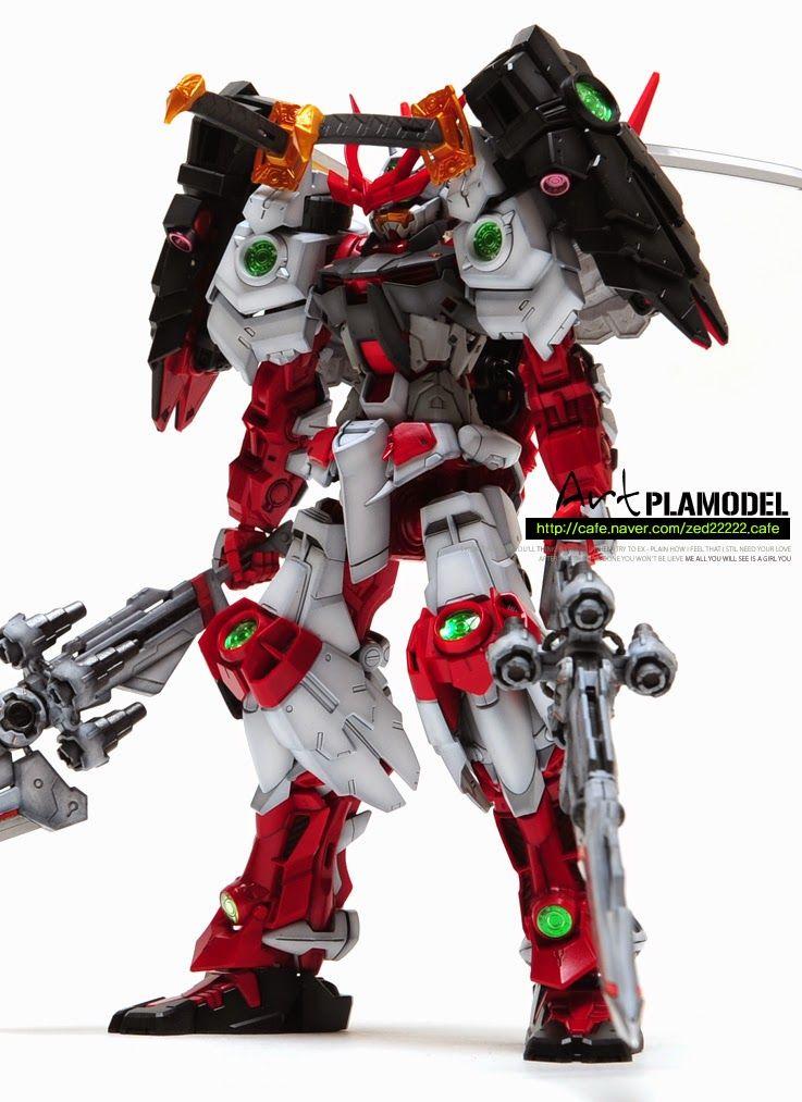 GUNDAM GUY: MG 1/100 Sengoku Astray Gundam - Customized Build