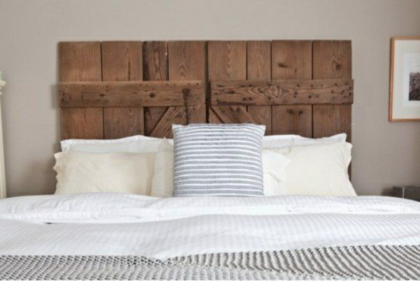 [ Diy Reclaimed Barn Door Headboard Bob Vila Upholstered With High End Look  ]   Best Free Home Design Idea U0026 Inspiration