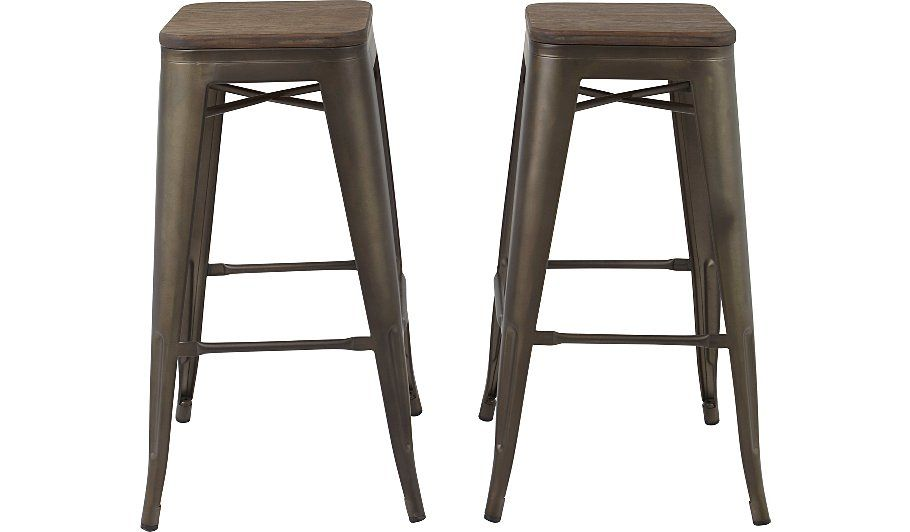 163 55 Buy Emilia 2 High Bar Stools From Our Garden Furniture
