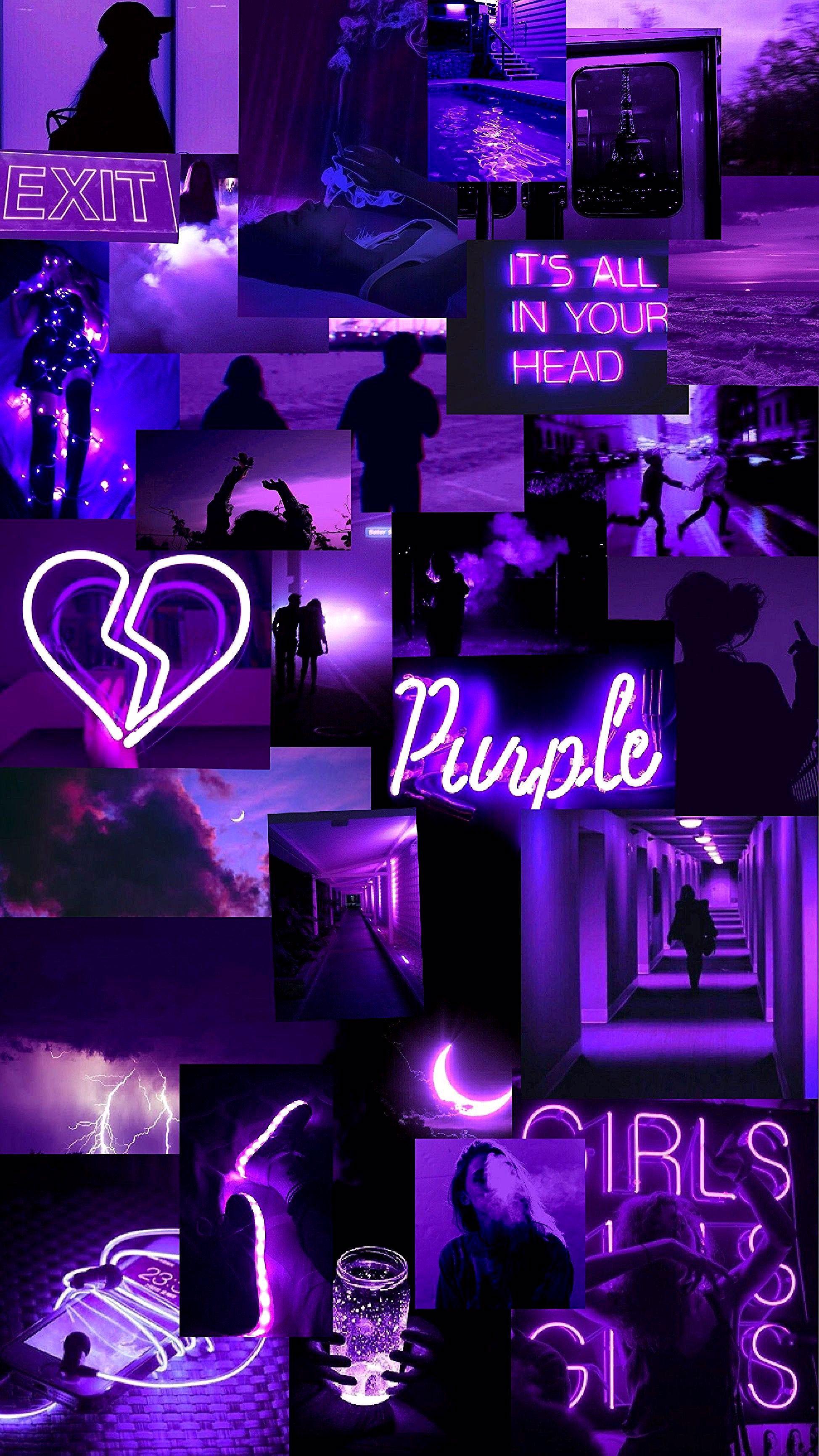 Purple💜 in 2020 Purple wallpaper, Aesthetic pastel